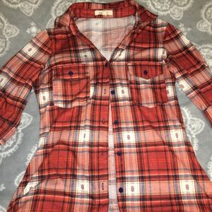 Orangy flannel worn once!